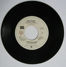 David Frizzell & Shelly West: Our Day Will Come 45 RPM Record Near Mint