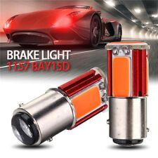 2x Red Light 1157 BAY15D COB LED Car Tail Stop Brake Light Turn Signal Bulb Lamp