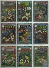"""1996 Conan: The Marvel Years """"Complete Base Set"""" of 90 CHROMIUM Cards (1-90)"""