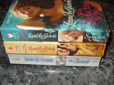 Laura Lee Guhrke lot of 3 historical romance paperbacks