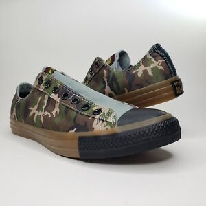 Converse Mens All Star Slip On Canvas Camo Fashion Shoes Sneakers Size 11 885250