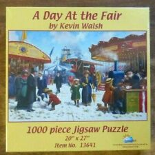 NEW Sealed -A Day At the Fair by KEVIN WALSH - 1000 Pc SunsOut Jigsaw Puzzle
