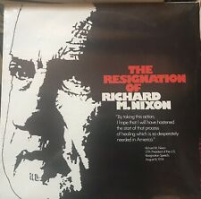 The Resignation Of Richard M. Nixon 1974 Vinyl Sealed New