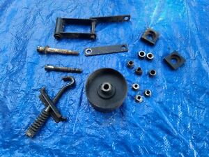 OEM Used John Deere 420 idler pulley assembly, pn AM39258 AM100447; 430 400