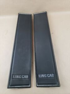 83 84 85 86 NISSAN 720 TRUCK KING CAB RIGHT AND LEFT PILLAR TRIM RARE