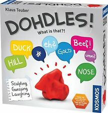 Dohdles! Board Game Sculpting Guessing Laughing Thames & Kosmos