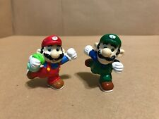 Vintage Mario & Luigi - 1989 Super Mario Bros - Nintendo - PVC Figure - Applause