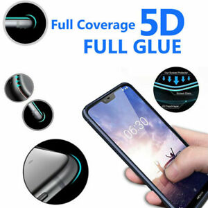 5D Anti Scratch 9H Tempered Glass Screen Protector for Nokia 6.1
