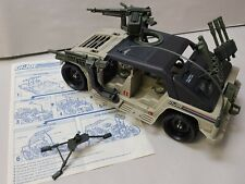 1990 GI Joe Hammer Humvee vehicle COMPLETE with Instructions (SEE DESCRIPTION)