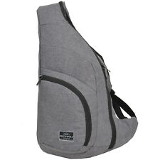 Eingurt Schulterrucksack Sling Delta Body Cross-Bag KEANU Grau Melange Daypack
