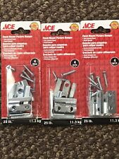 flush mount picture hangers with screws 3 Packs Of 4 Screws Included Free Ship