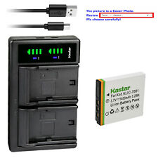 Kastar Battery LTD2 Charger for Kodak KLIC-7001 & Kodak EasyShare V705 Camera