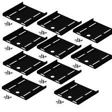 10 STÜCK HDD SSD EINBAUWINKEL EINBAURAHMEN RAHMEN 2,5/3,5 FESTPLATTE MONTAGE-SET