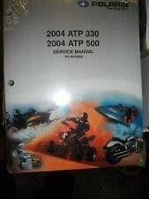 NEW 2004 Polaris ATP 330 500 4x4 Service Manual Comes With CD PART # 9918064