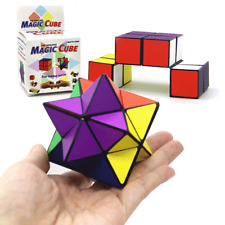 Rubiks Magic Cube Pyramid Speed Puzzle Pyraminx Triangle Rubik Rubix Fidget Toy