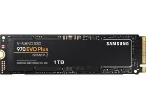 SAMSUNG 970 EVO PLUS M.2 2280 1TB PCIe Gen 3.0 x4, NVMe 1.3 V-NAND 3-bit MLC Int