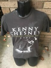 Kenny Chesney 2009 The Sun City Carnival Tour Concert T-Shirt Size S Dark Gray