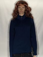Nike Tour Performance Therma-Fit Womens Medium Blue Full-Zip Long Sleeve Jacket