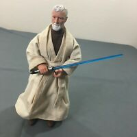 "Star Wars The Power of the Force 12"" Obi-Wan Kenobi Figure Hasbro 1998"