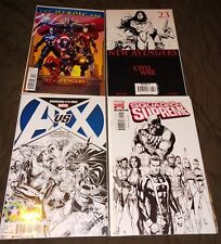 Avengers V 4 #1 New #23 A vs X-Men #2 Retailer, Squadron Supreme Sketch Variant