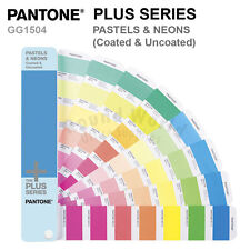 Pantone Plus Series Color Formula Guide GG1504 PASTELS & NEONS Coated & Uncoated