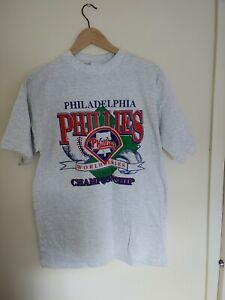 NOS! Vintage 1993 Philadelphia Phillies World Series Champions T Shirt Large