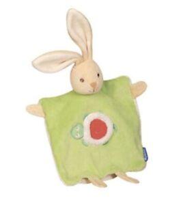 Kaloo 123 Green Rabbit with Turtle Comforter