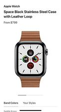 Apple Watch Series 5 44mm Stainless Steel - Gold -