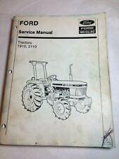 Ford New Holland 1910 2110 Tractor Factory Shop Service Repair Manual Book