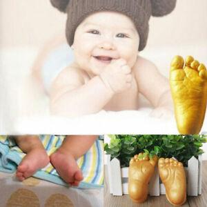 3D Plaster Handprint Footprint Baby Mould Hand&Foot Casting Prints Kit Cast