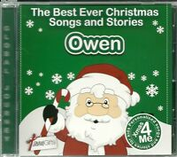 OWEN - THE BEST EVER CHRISTMAS SONGS & STORIES PERSONALISED CD