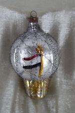 patriotischer Christbaumschmuck ,Ballon Eisernes Kreuz ,WK1 , Reichskriegsflagge