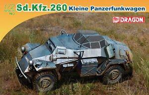 Dragon 7446 1/72 Plastic WWII German Sd.Kfz. 260 Kliene Panzerfunkwagen