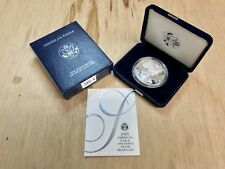 ~***PROOF*** 2005 W American Silver Eagle .999 with CoA & OGP (CC1314)