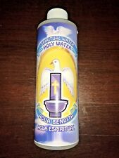 HOLY WATER By Brybradan Agua Bendita 8 OZ Blessed by monsignor bottled sacred