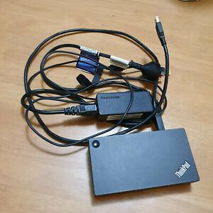 Lenovo Thinkpad 4K Ultra Dock 40A8 HDMI DisplayPort USB 3.0 DK1523