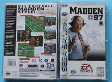 Madden NFL 97 (Sega Saturn, 1996)