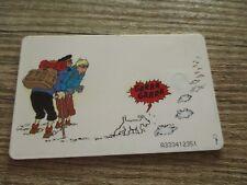 Tintin&Milou-Ancienne carte téléphonique-Au Tibet-Hergé,Moulinsart (1998)