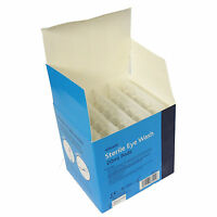 Full Box of 25 First Aid Sterile 0.9% Sodium Chloride 20ml Wound Eye Wash Pods