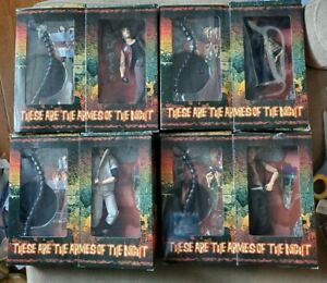 Lot of 4 Mezco Warriors figures Exremely Rare