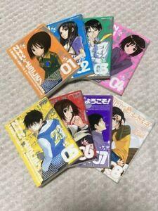 WELCOME TO THE NHK vol. 1-8 complete Set Japanese Comics Manga Anime Book