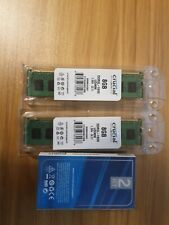 More details for crucial ddr3 ram kit 16gb 1600 mhz 8gb x2 computer memory upgrade ct102464bd160b