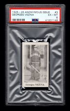 PSA 6 GEORGES VEZINA 1925 Anonymous Hockey #3 THE HIGHEST EVER GRADED 1 of 1