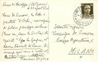 Autografo dello scrittore Francesco Sapori (Massalombarda, 1890 - Roma, 1964)