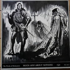 Argo RG 300-2 Shakespeare Much Ado About Nothing 3 LP box set
