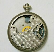 Vtg Unknown Pocket Watch Mixed Parts For Repair As Is