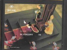 St. VIncent - Disney - 1991 Prince & the Pauper - MNH Souvenir Sheet