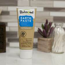 REDMOND - EarthPaste Peppermint Natural Toothpaste - 4 oz. (113 g)