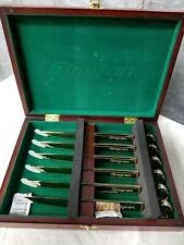 Snap-On Box Wrench 6 Piece Steak Knife Set Stainless steel in Collectors Box