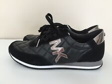 NEW! Michael Michael Kors Stanton quilted leather sneakers sz 8M/38.5 M